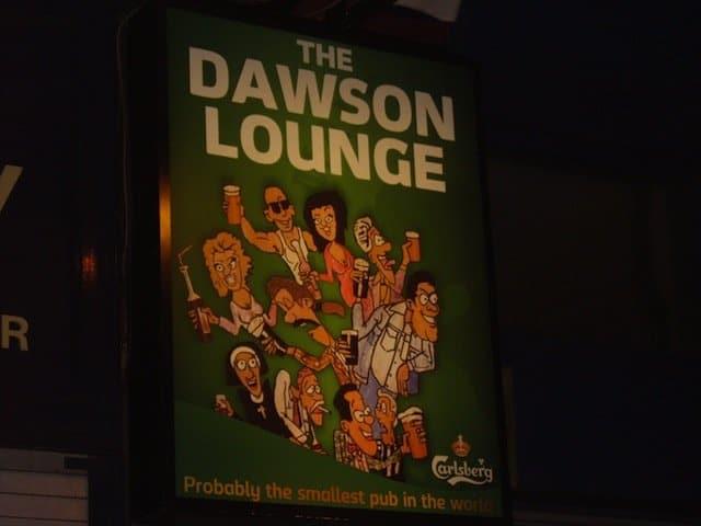 The Dawson Lounge - best bars in Dublin on GlobalGrasshopper.com
