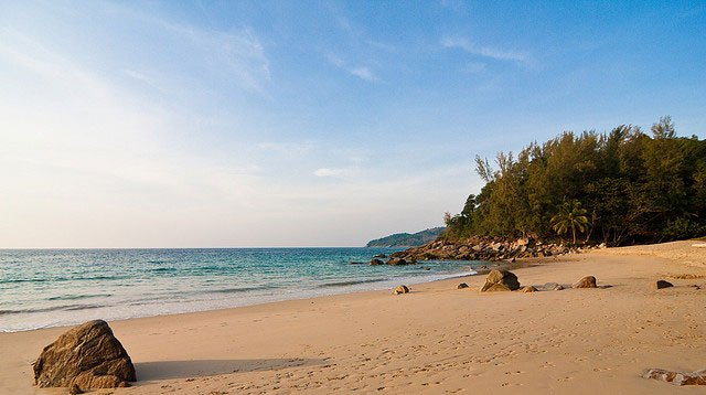 Best beaches in Phuket - Banana Rock Beach
