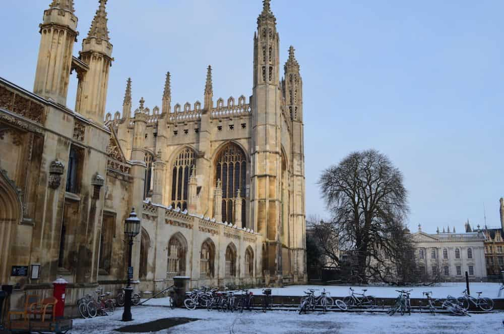 Cambridgeshire in the winter
