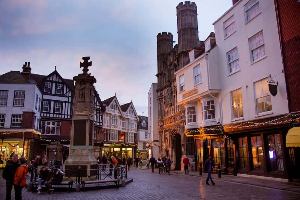 Visiting Canterbury in the winter