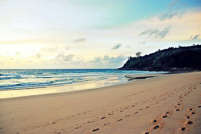 Best beaches in Phuket - Nai Thon Beach