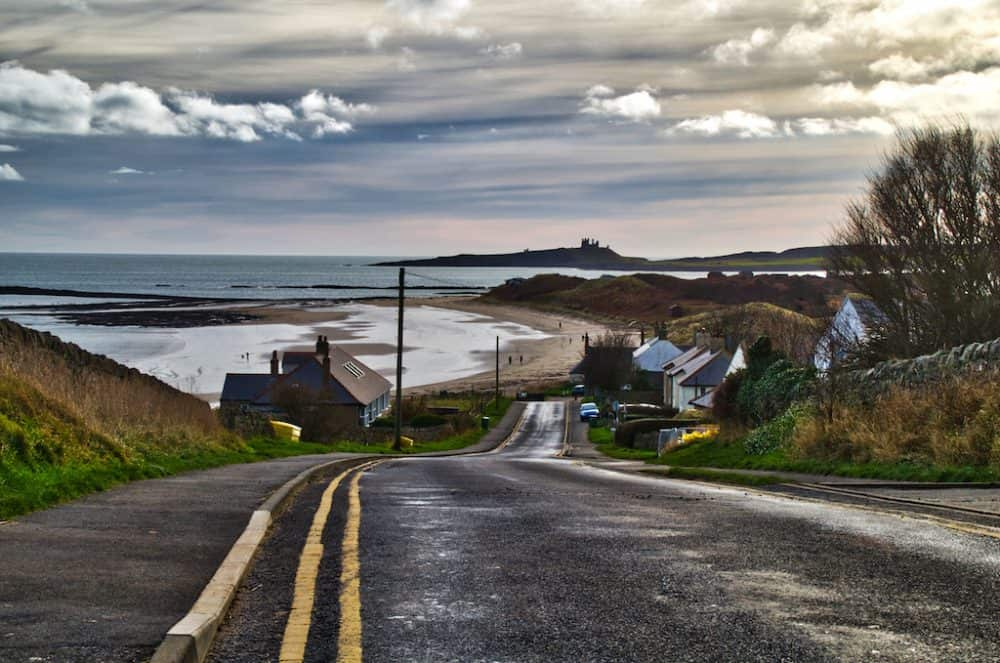 Northumberland - great winter destinations in the UK