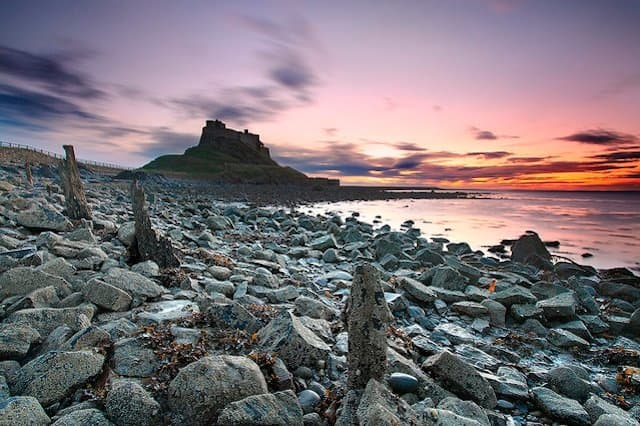 Northumberland - Places to visit in the UK in winter