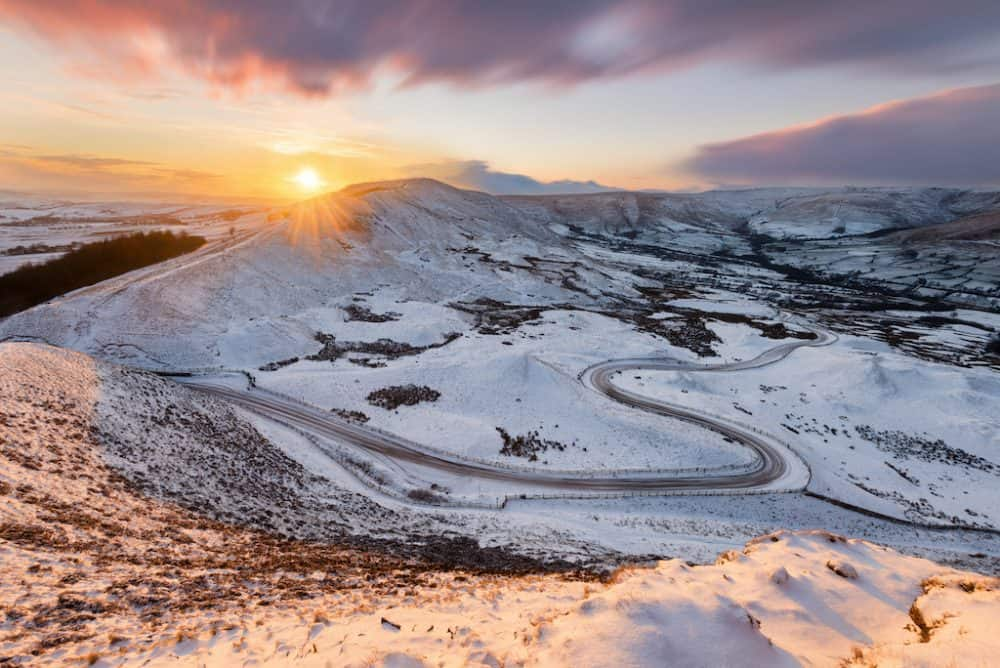 Visiting the Peak District in winter