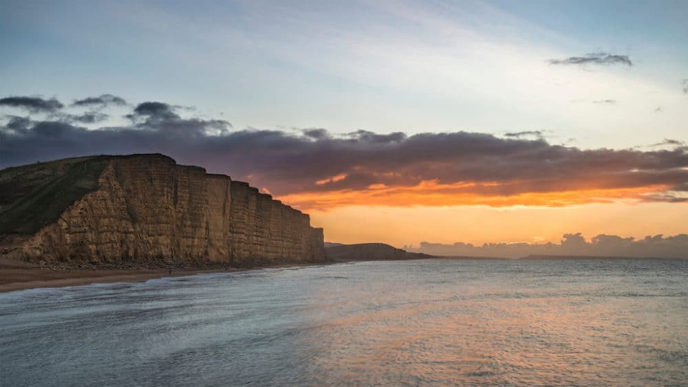 Visiting West Bay, Dorset in the winter