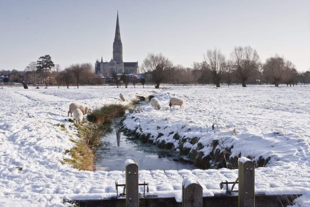 Wiltshire - beautiful UK winter destinations
