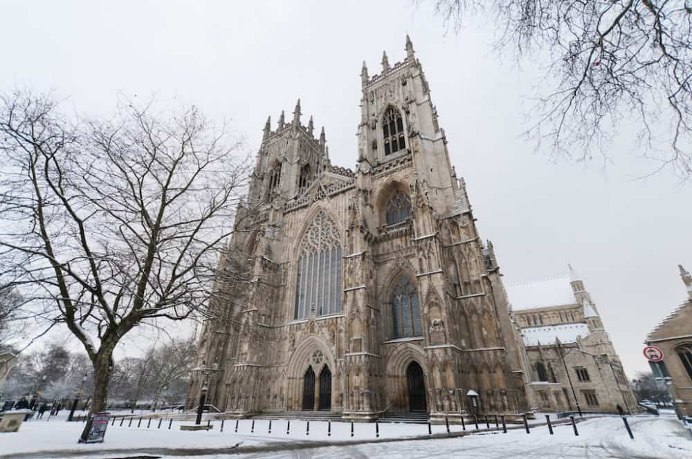 York, Northeast England - great winter UK destinations