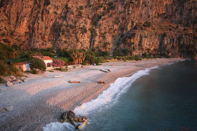 Butterfly Valley - best beaches in Turkey on GlobalGrasshopper.com