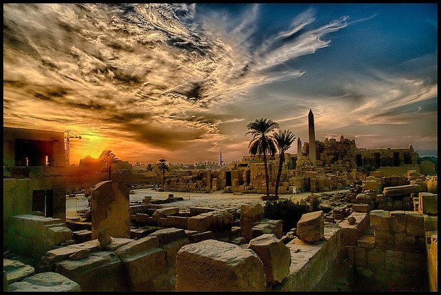 Luxor - beautiful places to visit in Egypt on GlobalGrasshopper.com
