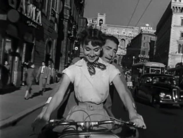 Roman Holiday - movies that make you want to travel on GlobalGrasshopper.com