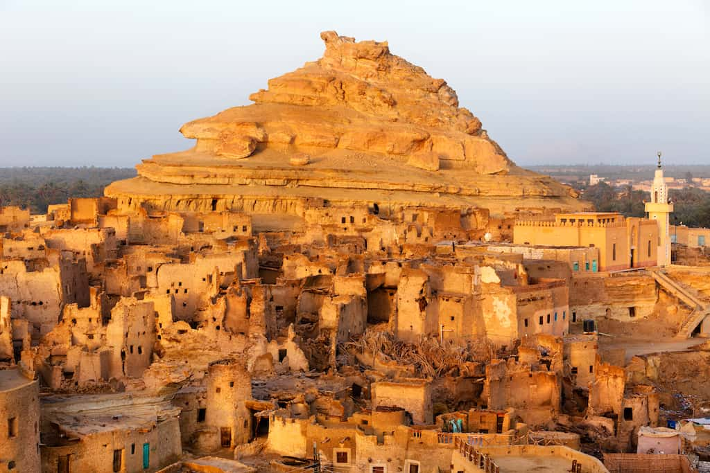 Siwa Oasis - beautiful places to go in Egypt