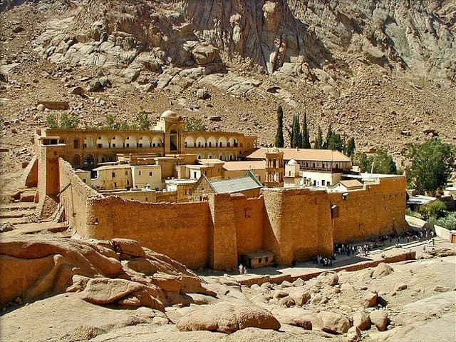 St Catherine's Monastery - beautiful places to visit in Egypt on GlobalGrasshopper.com