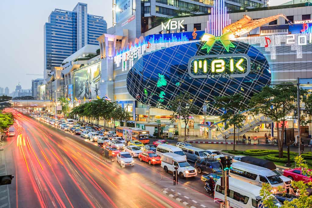 The MBK Mall Bangkok