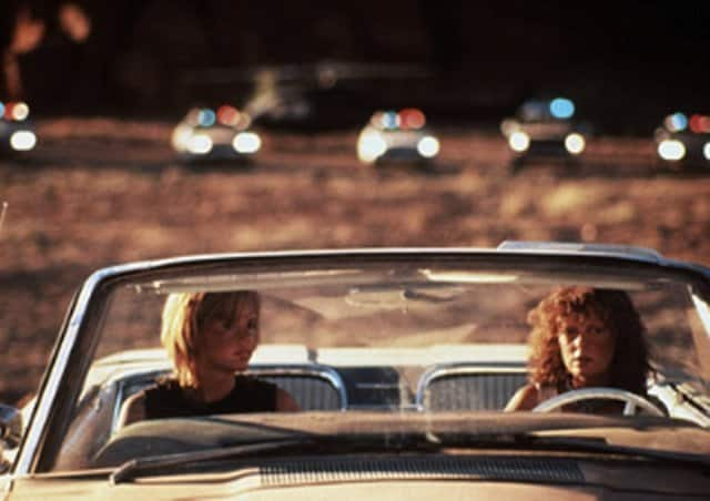 Thelma and Louise - movies that make you want to travel on GlobalGrasshopper.com