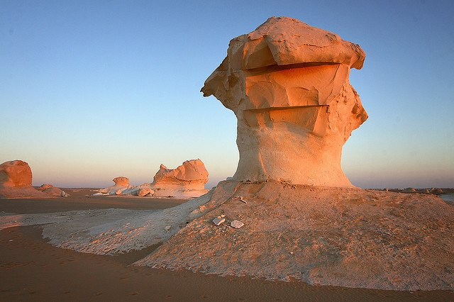 White desert - beautiful places to visit in Egypt on GlobalGrasshopper.com