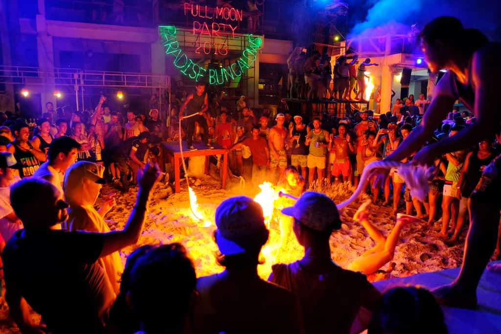 Best full moon parties in Asia