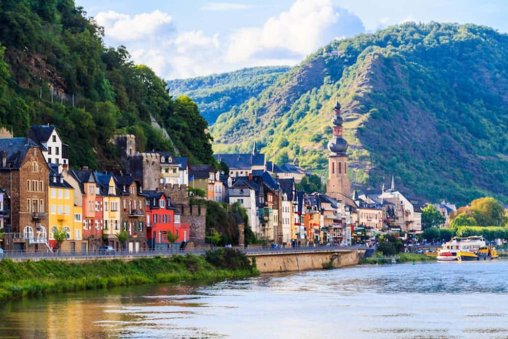 Moselle Valley in Germany