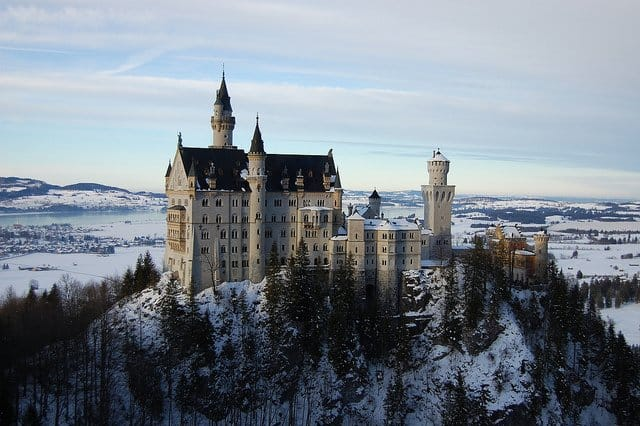 Places to visit in Germany - Neuschwanstein Castle on GlobalGrasshopper.com