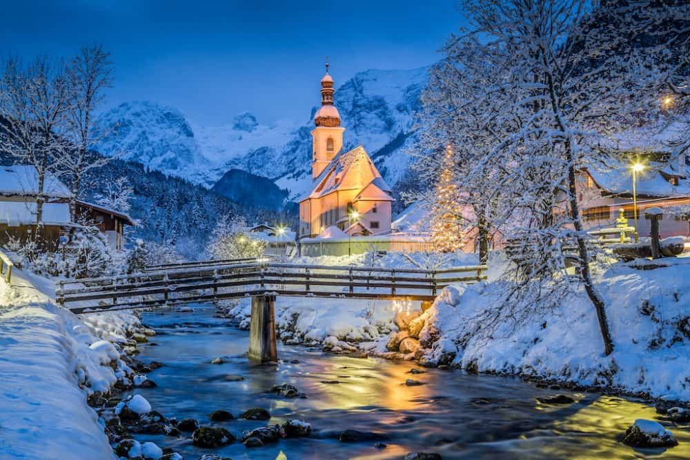 Ramsau village in Germany