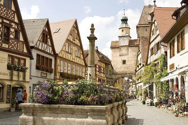 Places to visit in Germany - Rothenburg ob der Tauber on GlobalGrasshopper.com