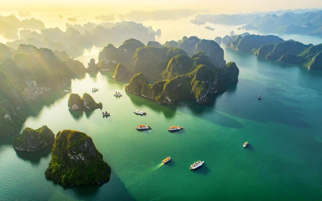 Top 10 of the most beautiful places to visit in Vietnam
