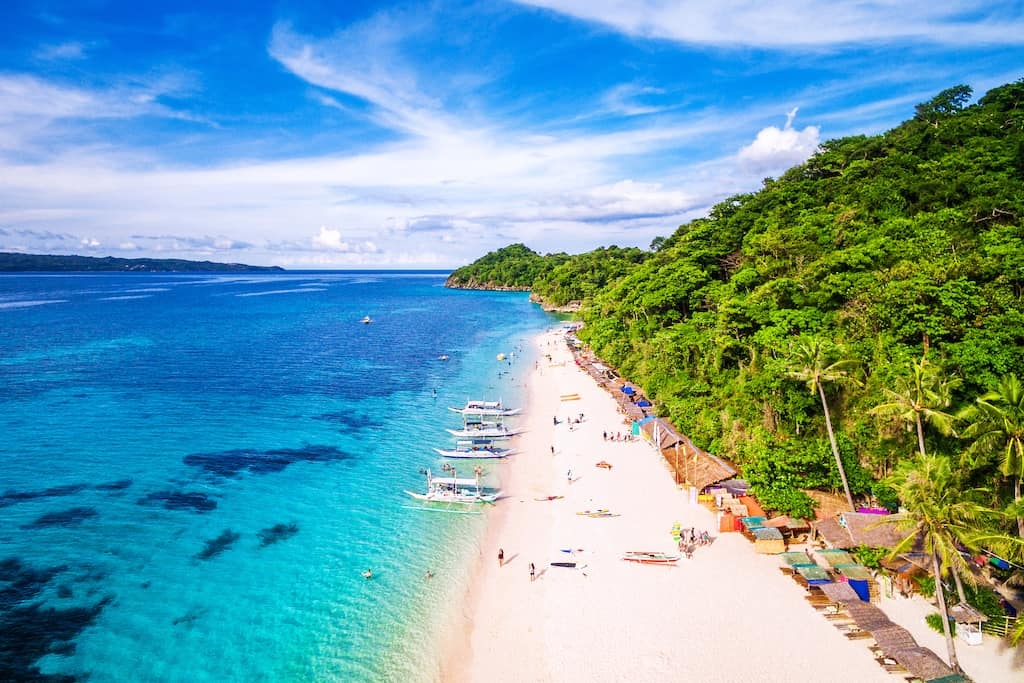 Boracay in Philippines - best