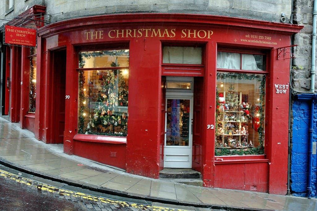 Christmas Edinburgh on GlobalGrasshopper.com