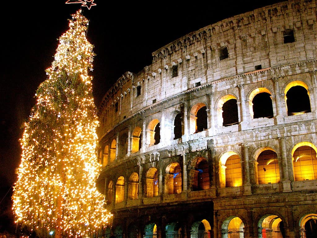 Christmas in Rome on GlobalGrasshopper.com