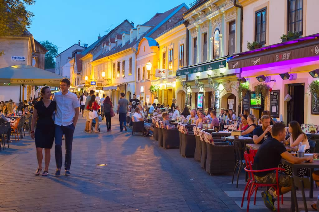 Zagreb in Croatia - best cities for cheap drinks