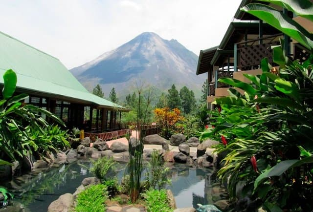 Arenal Lodge Spa Costa Rica - cheap spa hotels on GlobalGrasshopper.com
