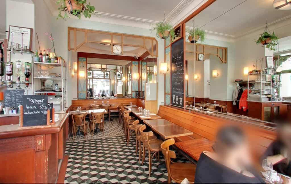 La Fée Verte cafe Paris