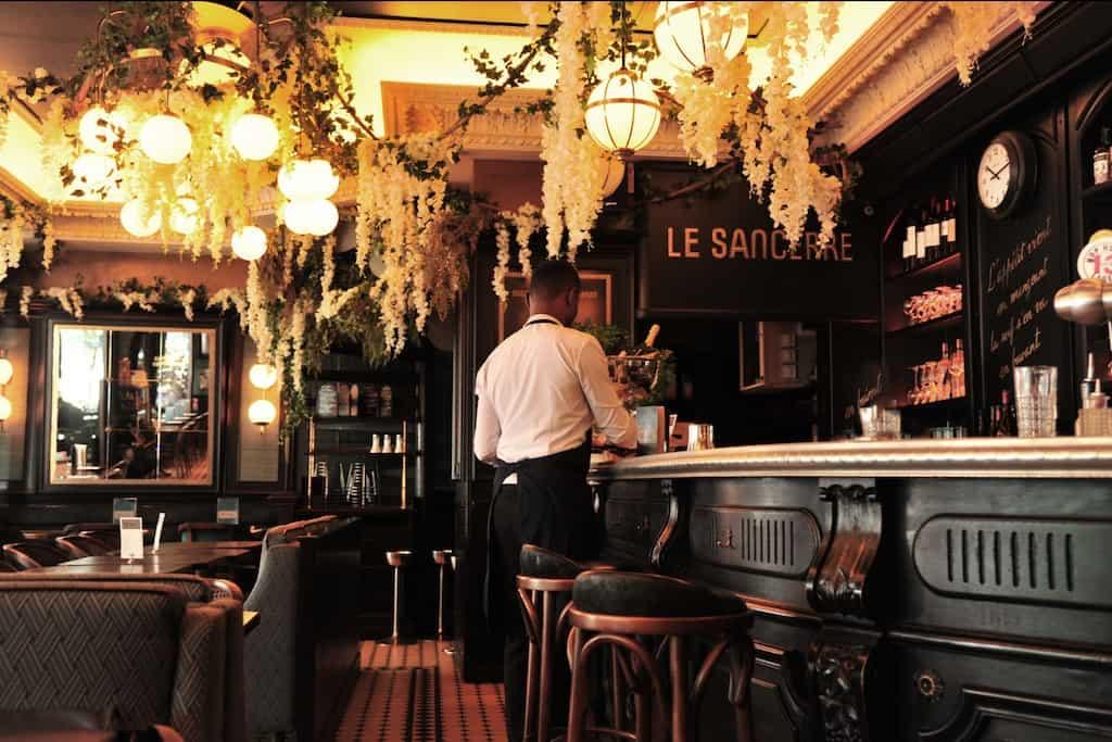 Le Sancerre Monmarte Paris - best Paris cafes
