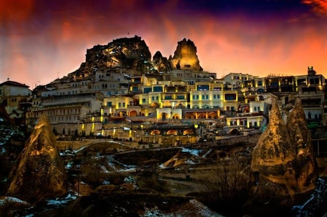 Cappadocia Cave Resort and Spa Turkey - romantic hotels in Europe on GlobalGrasshopper.com