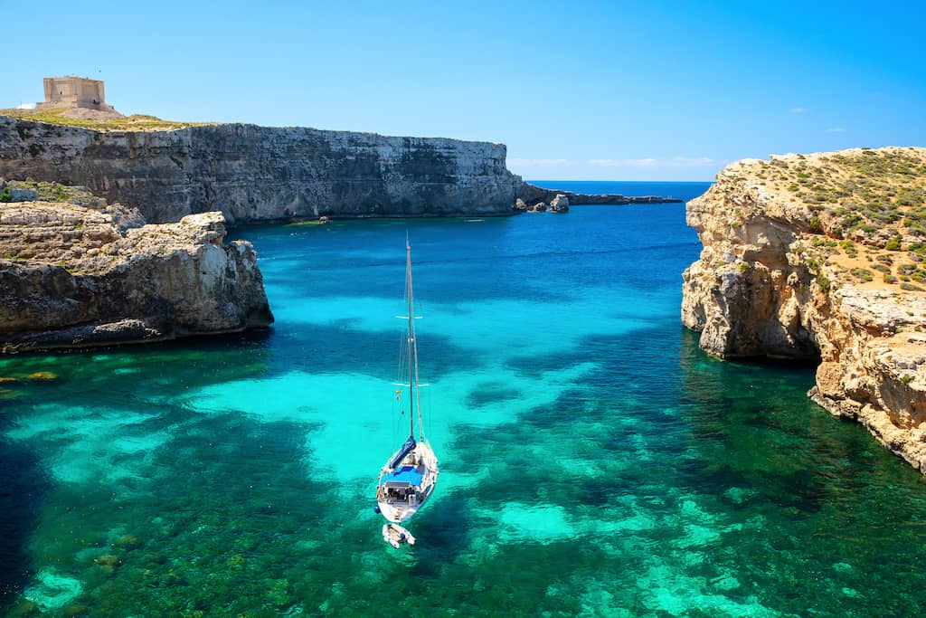 Comino, Malta - great islands in Malta