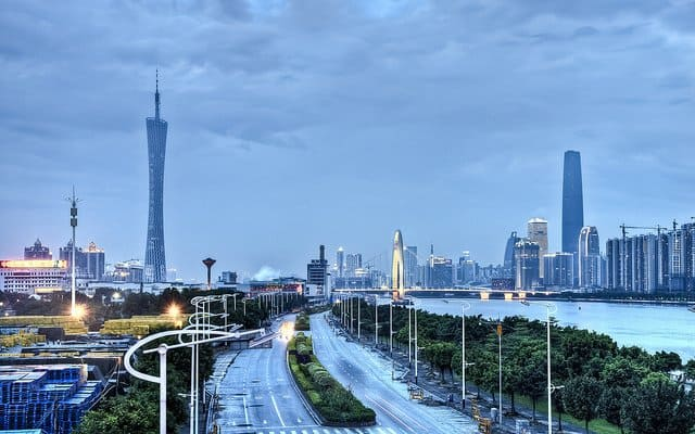 Guangzhou West Tower - world's tallest buildings on GlobalGrasshopper.com