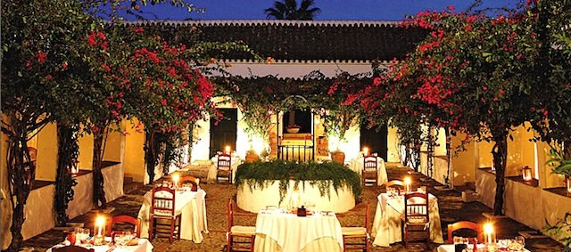 Hacienda de San Rafael Spain - romantic hotels in Europe on GlobalGrasshopper.com