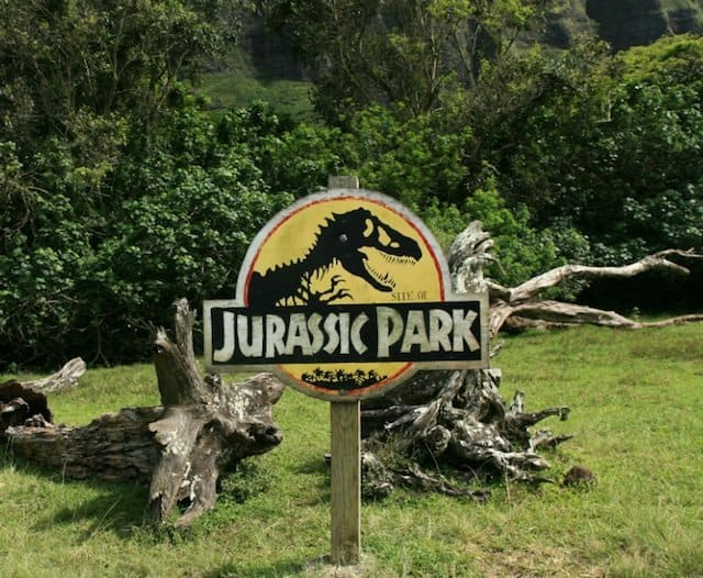 Jurassic Park Hawaii - movie location travel destinations on GlobalGrasshopper.com
