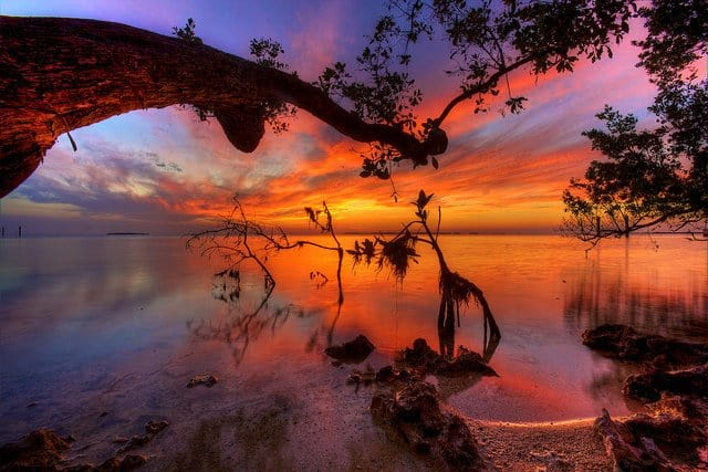 Key Largo Florida - beautiful sunsets on GlobalGrasshopper.com