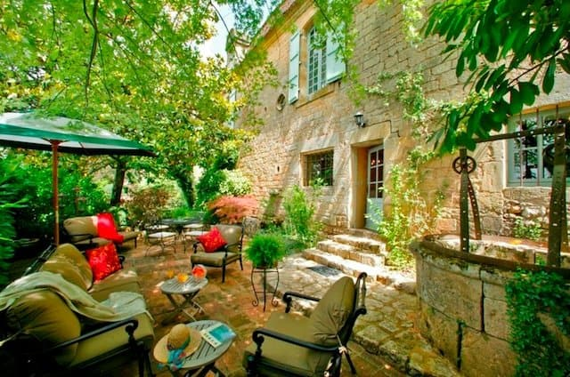 Le Prieure du Chateau de Biron - romantic hotels in Europe on GlobalGrasshopper.com