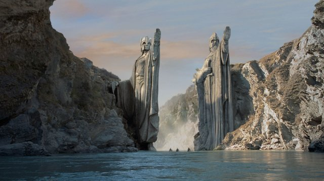Lord of the Rings - movie location travel destinations on GlobalGrasshopper.com