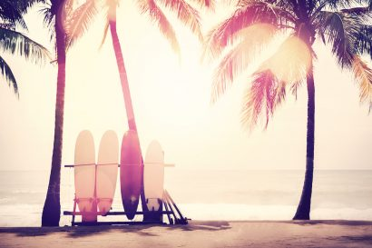 Top 10 of the most beautiful places to surf