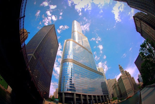 Trump International Hotel Chicago - world's tallest buildings on GlobalGrasshopper.com