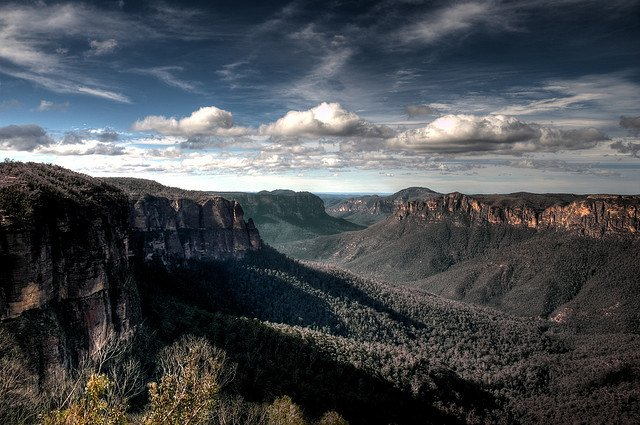 Blue Mountains - places to visit in Australia on GlobalGrasshopper.com