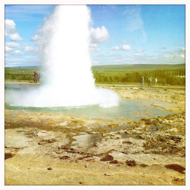 Geysir - Iceland on GlobalGrasshopper.com