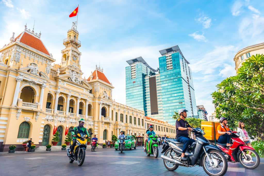 Ho Chi Minh City Moped
