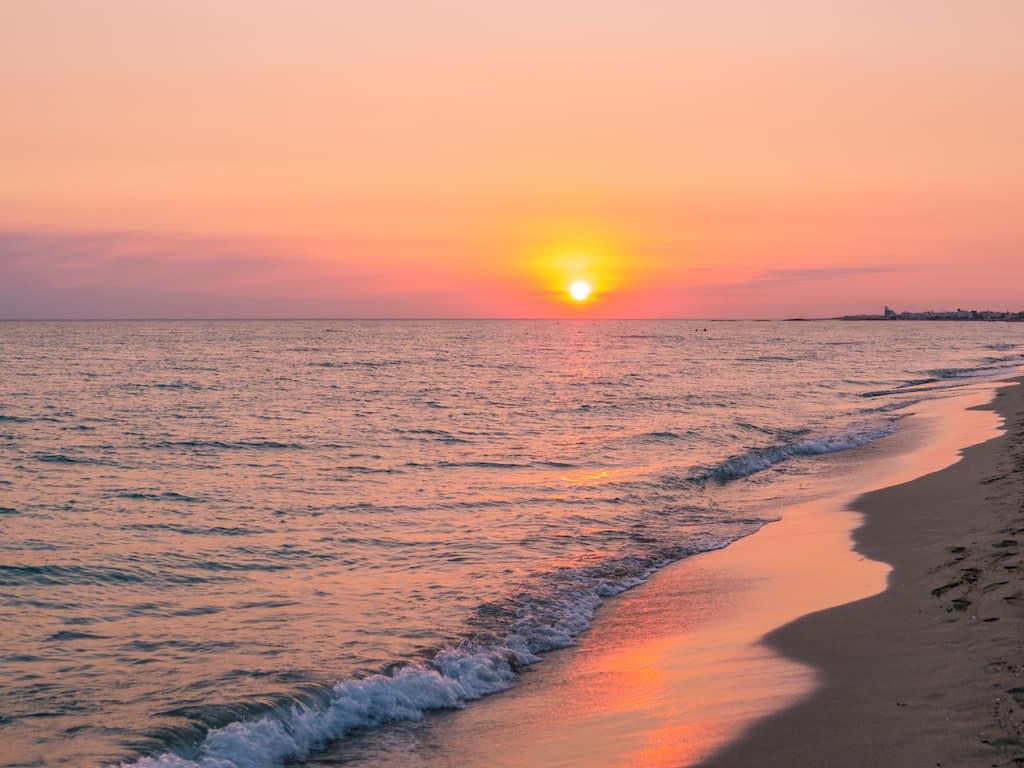 Riva di Ugento beach Puglia Italy