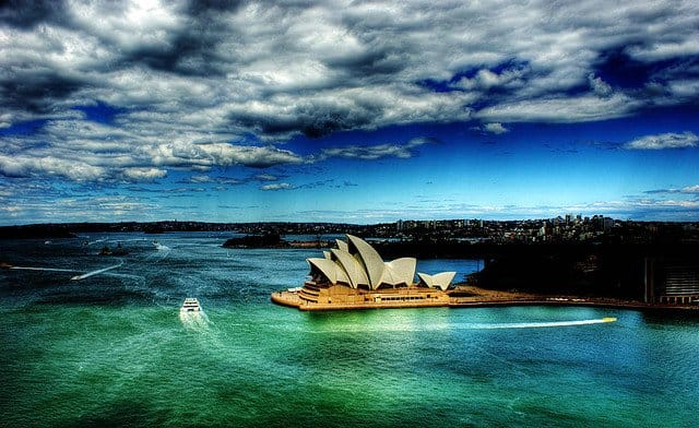 Sydney Harbour - most beautiful places to spend New Year's Eve