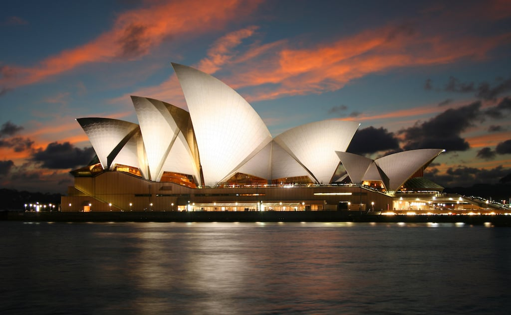 Sydney opera house - most beautiful places to visit in Sydney
