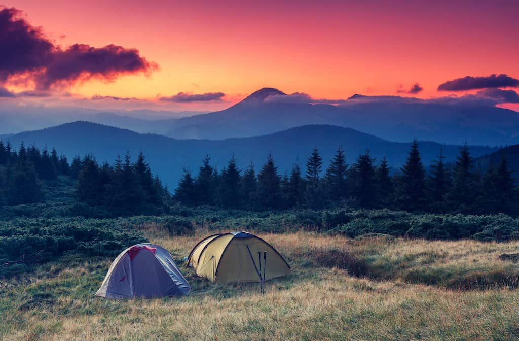 Top 10 most beautiful places to camp in Europe