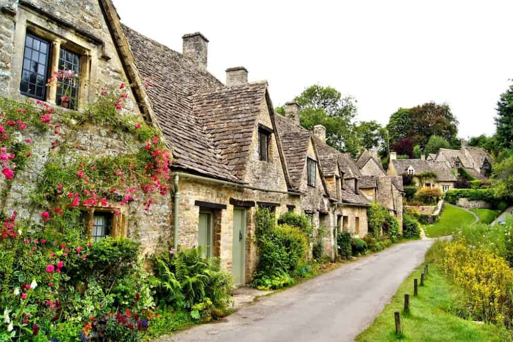 Bibury village England